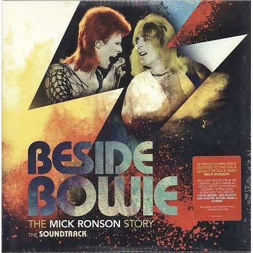 David Bowie / Mick Ronson Beside Bowie: The Mick Ronson Story (The Soundtrack) (Czech 2018 original Ltd V/A 2LP set gf ps!)