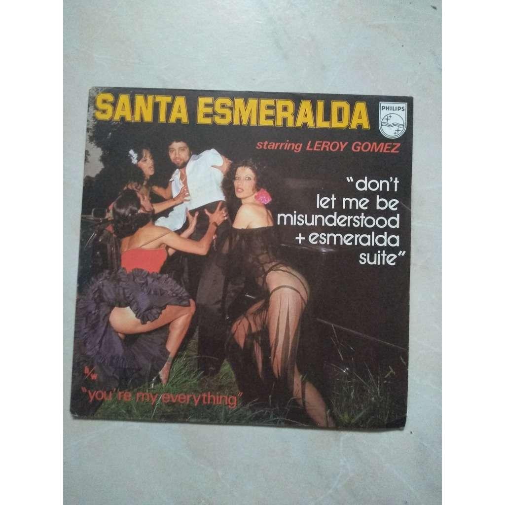 santa esmeralda don't let me be misunderstood