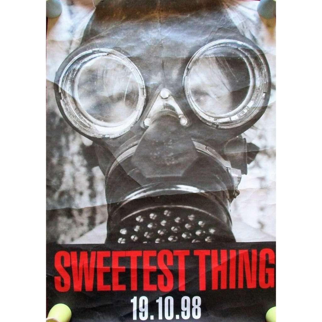 U2 Sweetest Thing (UK 1998 original Island 'single release' promo shop poster!)