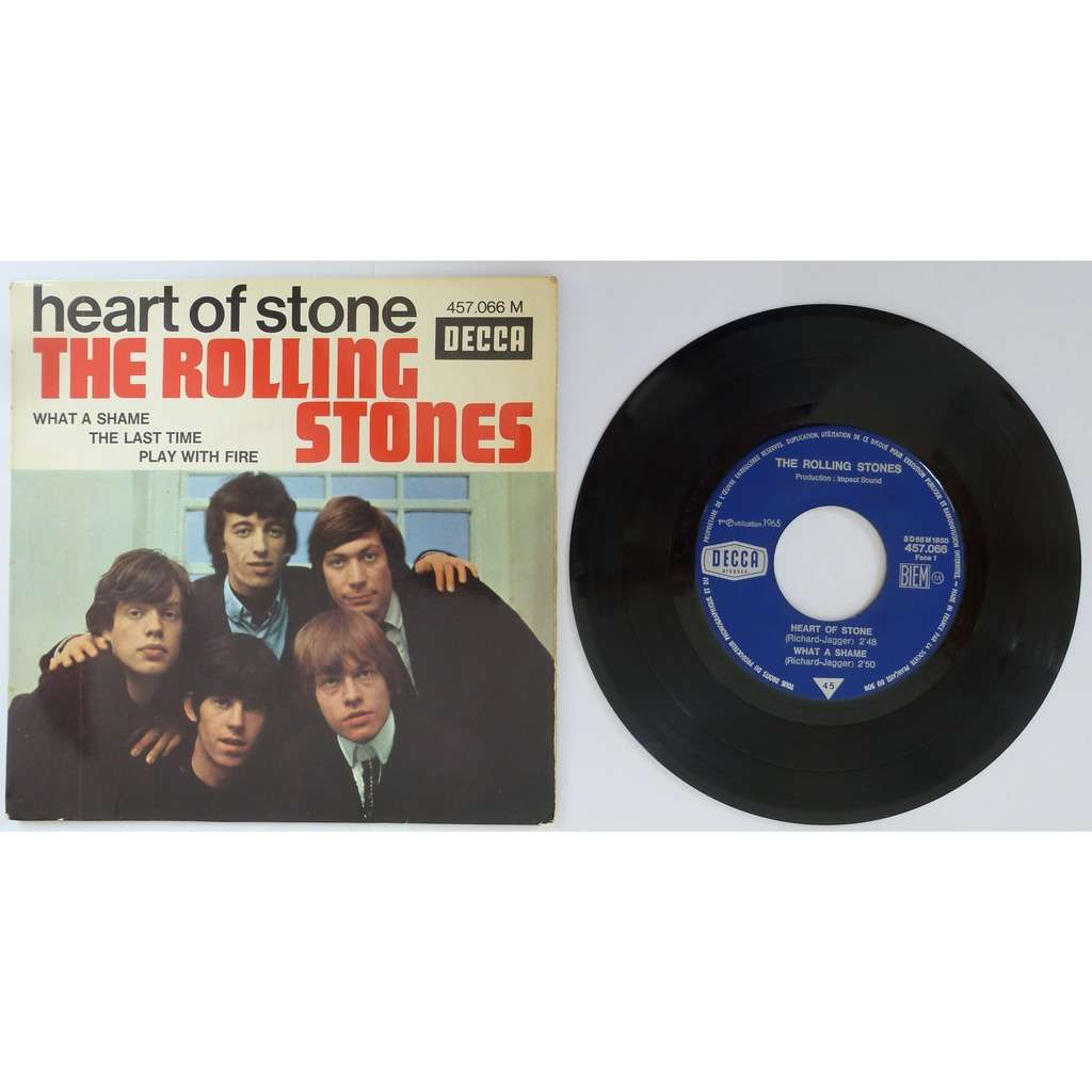 The Rolling Stones Heat of stone