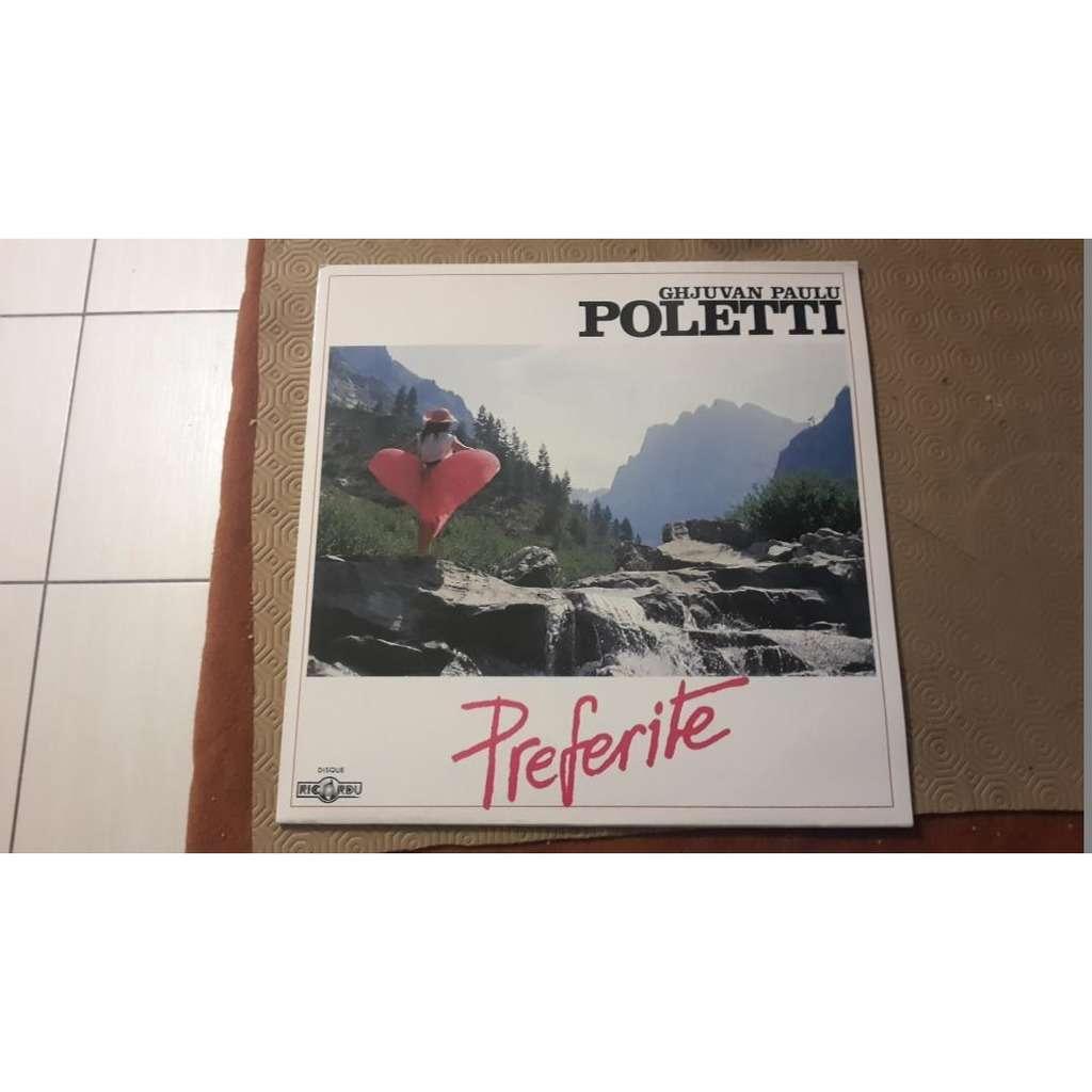 GHJUVAN PAULU POLETTI (Jean Paul Poletti) Preferite