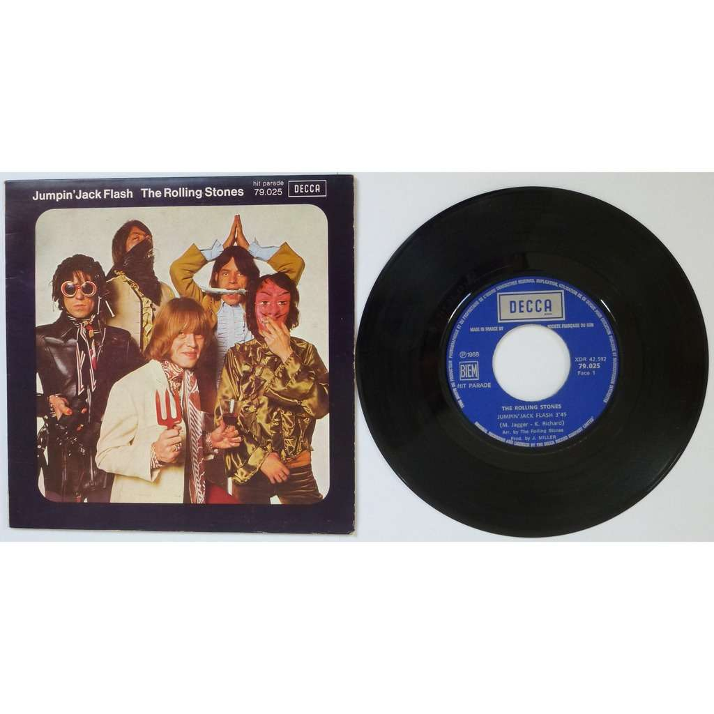 the rolling stones Jumpin'Jack Flash