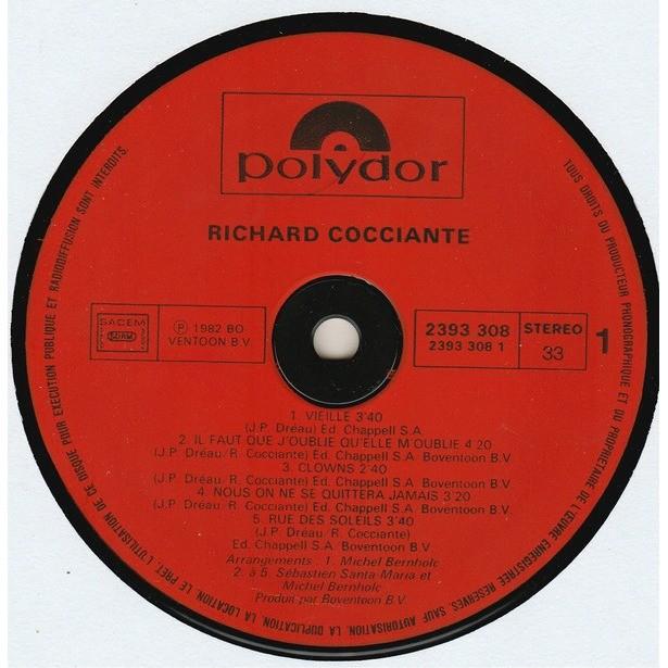 RICHARD COCCIANTE VIEILLE