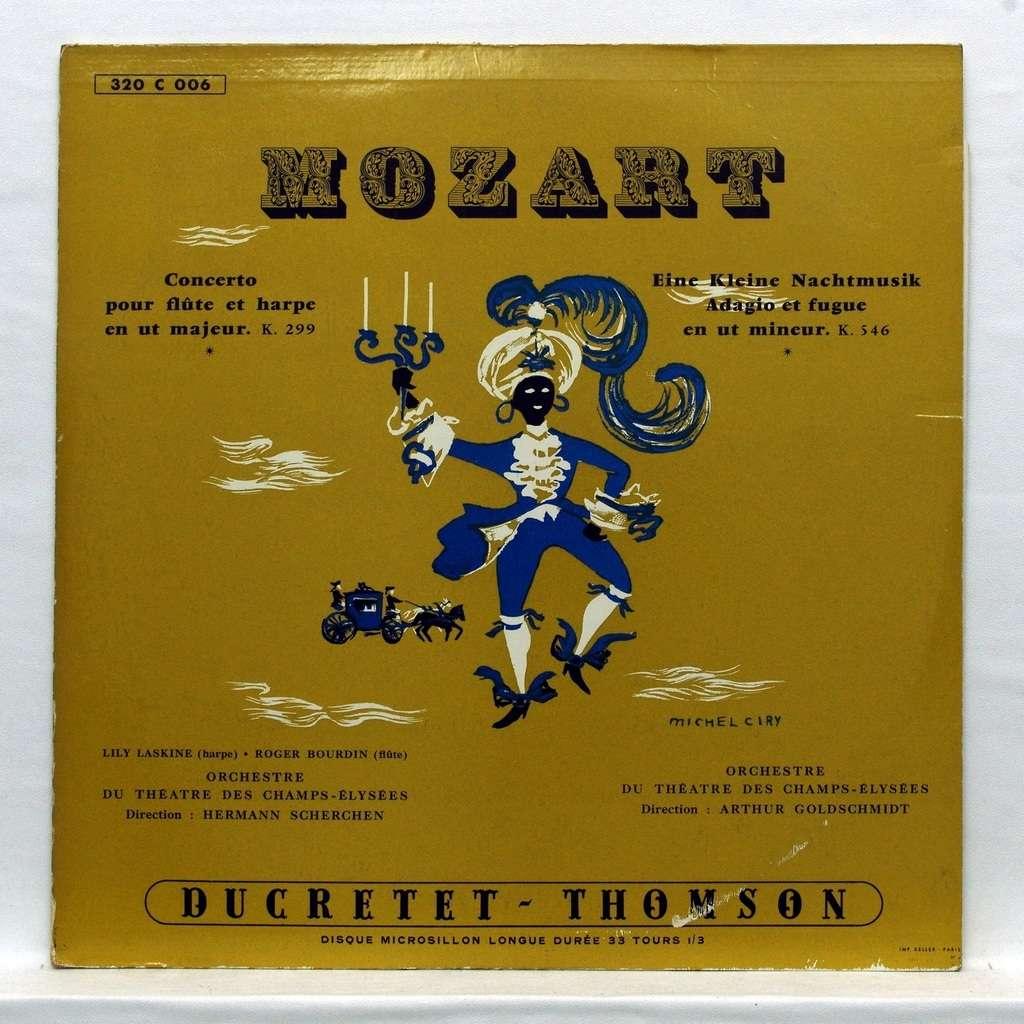 Lily Laskine / Roger Bourdin Mozart : Concerto for flute & harp / Eine Kleine Nachtmusik