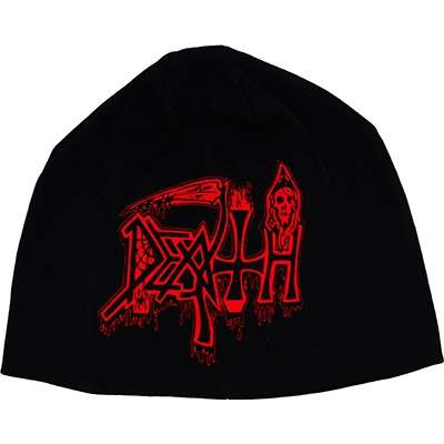 DEATH red logo / life will never last