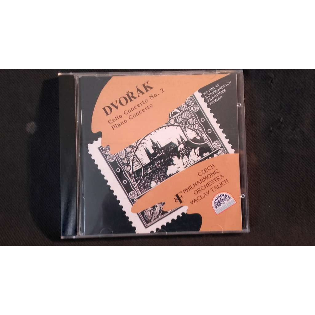 Vaclav Talich/Czech Philarmonic Orchestra Dvorak