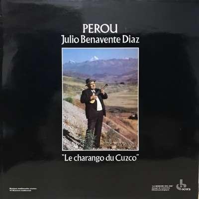 DIAZ Julio Benavente PEROU - LE CHARANGO DU CUZCO