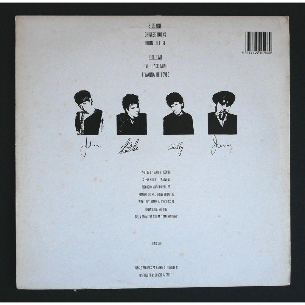 Johnny Thunders & The Heartbreakers Chinese Rocks