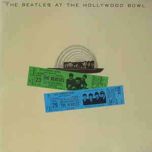 lennon, john (the beatles) The Beatles At The Hollywood Bowl