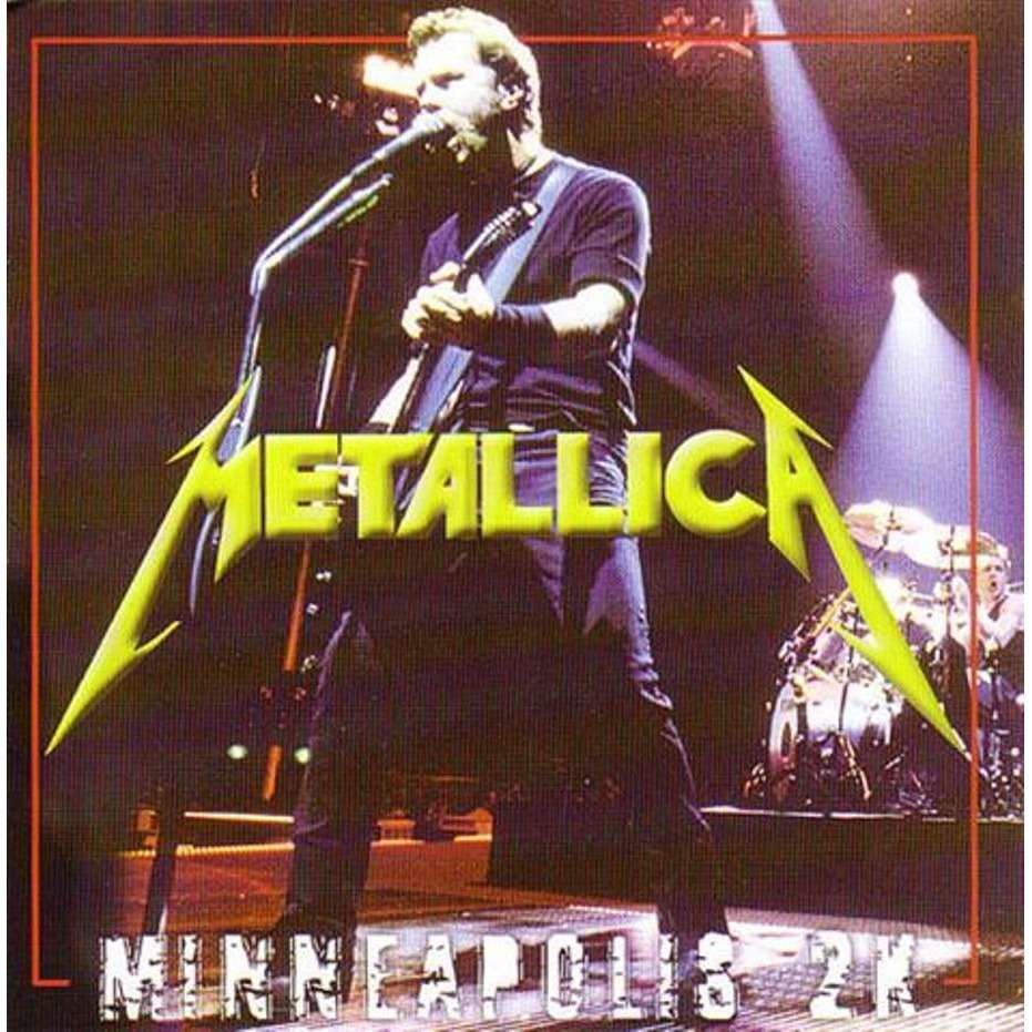 Metallica (SEALED) Metallica - MINNEAPOLIS - January 9, 2000 - (FULL SHOW) - USA 2CD+2DVD