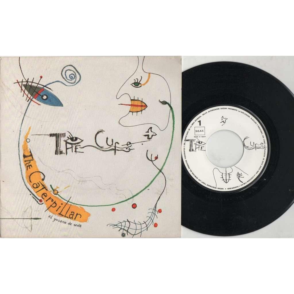 the cure El Gusano De Seta (The Caterpillar) (Spanish 1984 original 2-trk 7single unique spanish titles ps)