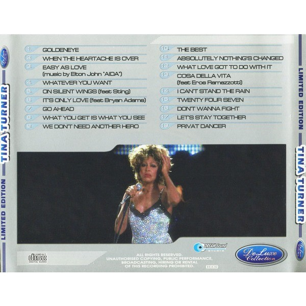Tina Turner DeLuxe Collection (18 tracks Russia only compilation) CD