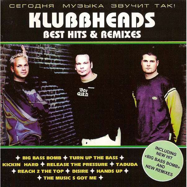 Klubbheads Best Hits & Remixes (12 tracks russia only compilation) CD (2000)
