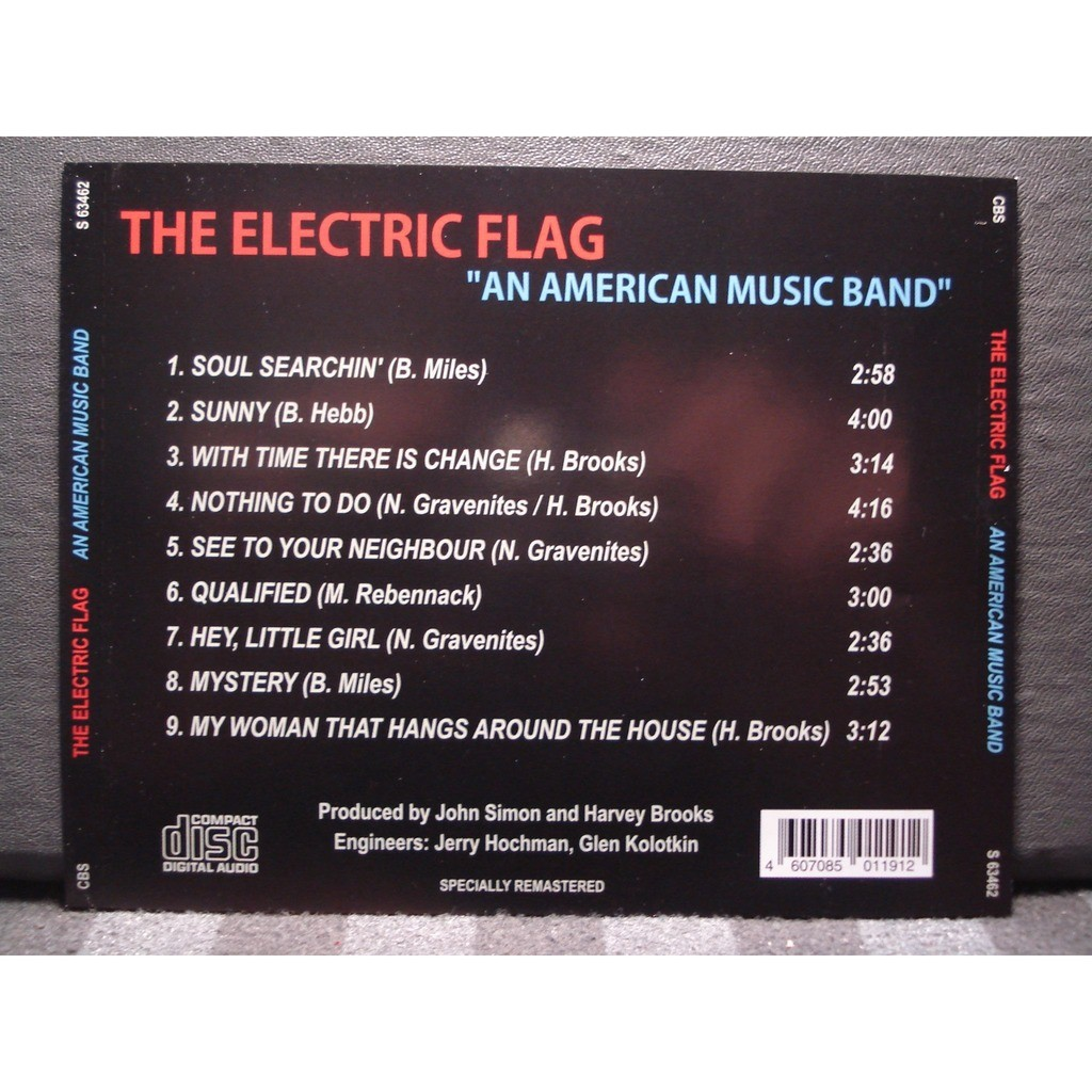 The Electric Flag An American Music Band
