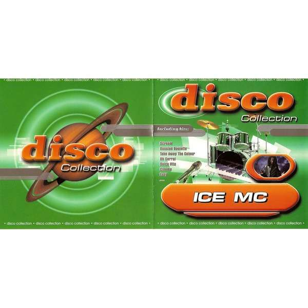 Ice MC Disco Collection (17 tracks russia only compilation) CD (2003)