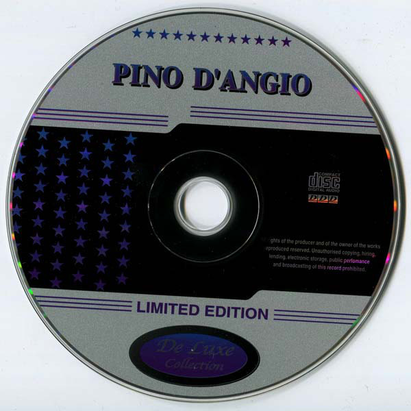 Pino D'Angio (Pino D'Angiò) DeLuxe Collection (20 tracks Russia only compilation) CD (2001)