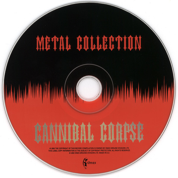 Cannibal Corpse Metal Collection (26 tracks Russia only compilation) CD (2002)