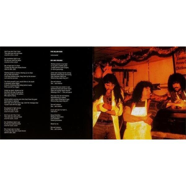 CARNIVORE Retaliation + 3 bonus tracks (8 page booklet with lyrics) CD (2014 pressing)