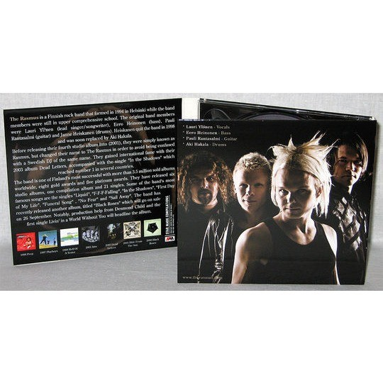 The Rasmus Greatest Hits (2008) 2CD Digipak / New & Factory-Sealed / Rare & out of print
