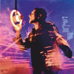 U2 360° Live (USA 2012 Ltd ' U2 Fan club USA' 250 copies 9-trk live LP Picture Disc unique ps)