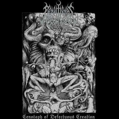 SEMPITERNAL DUSK Cenotaph of Defectuous Creation. Silver & Black Vinyl