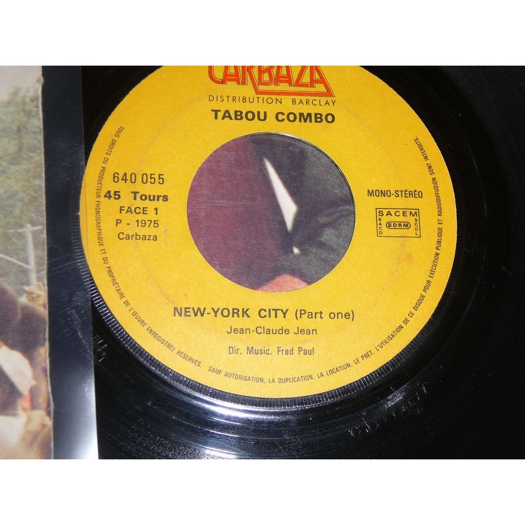TABOU COMBO new york city (part 1) / new york city (part 2)