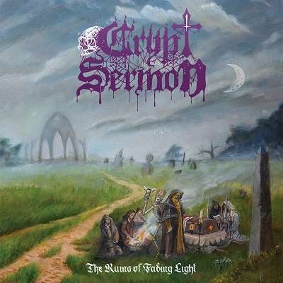 CRYPT SERMON The Ruins of Fading Light. Black Vinyl