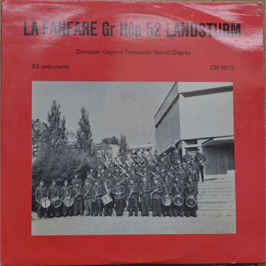 fanfare Gr hop 52 landsturm CR 1972 MONTANA