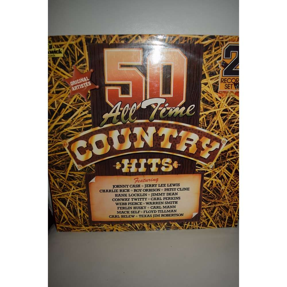artistes country 50 all time country hits