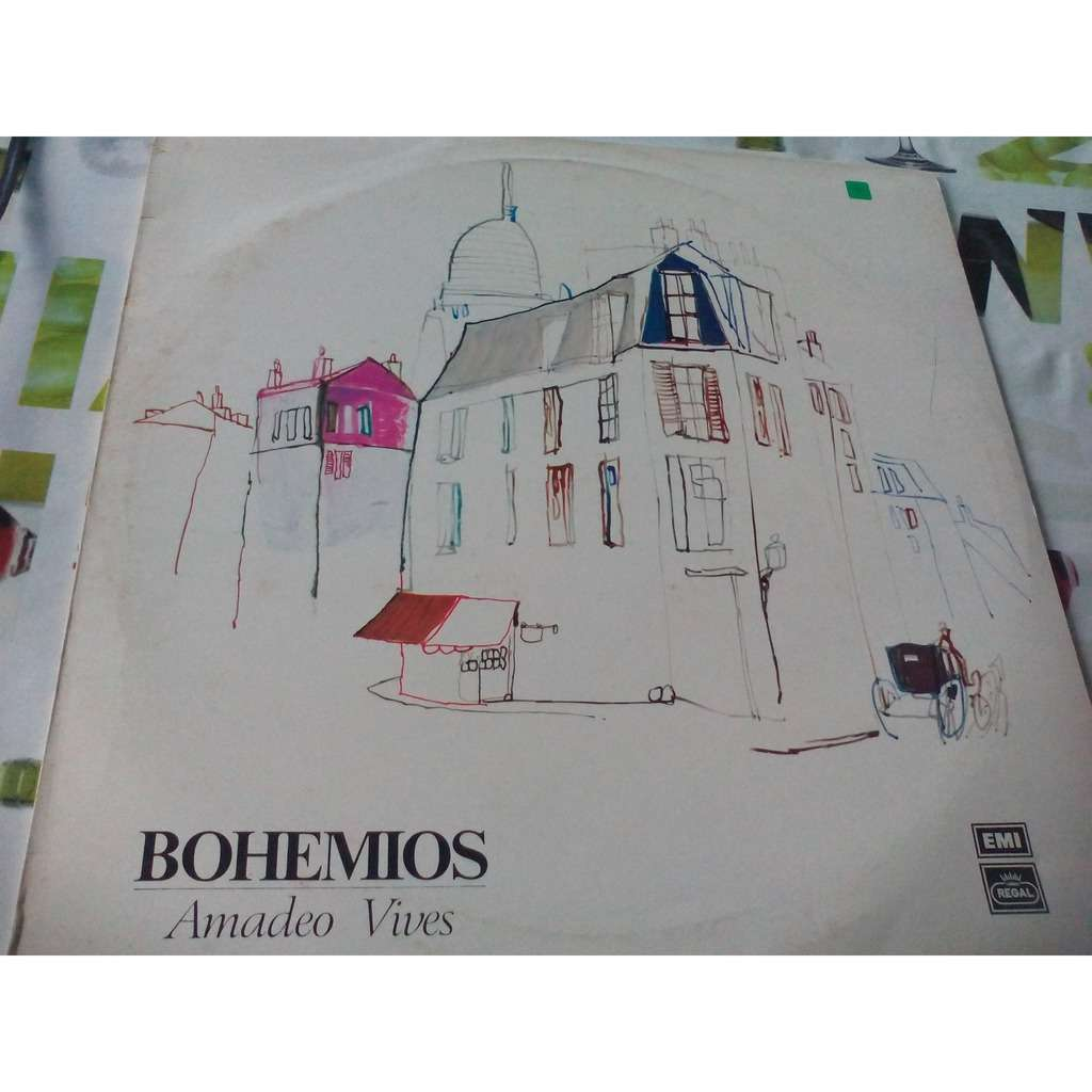 Amadeo Vives Bohemios