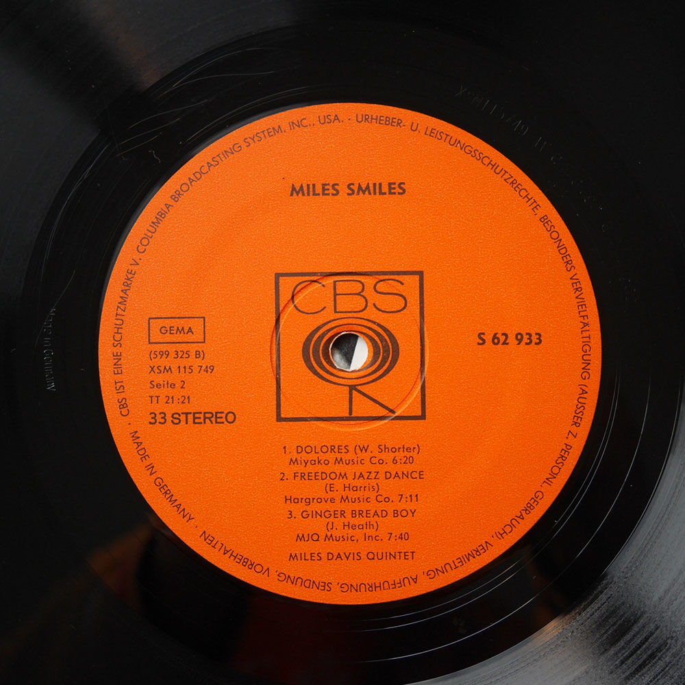Miles Davis Quintet Miles Smiles
