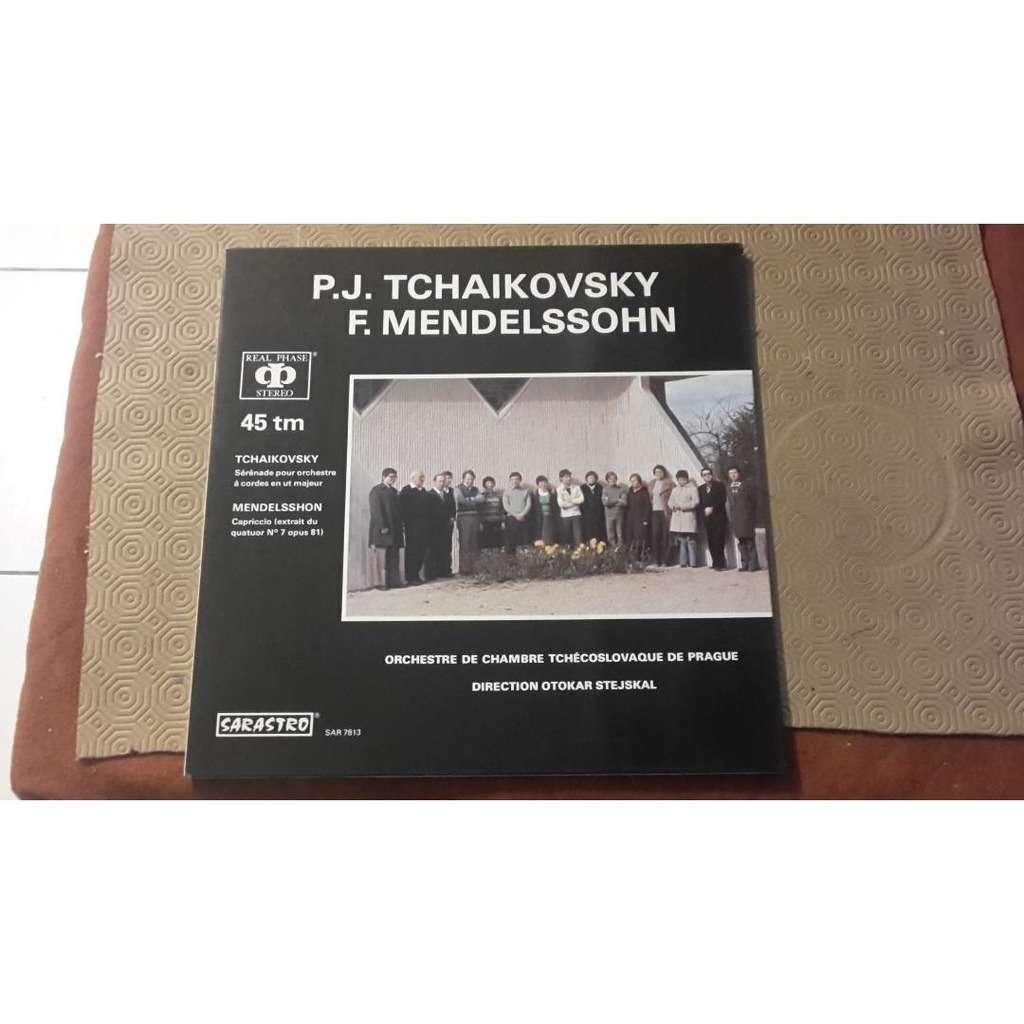 Orch De Chambre Tchécoslovaque / O. Stejskal tchaikovsky: Mendelssohn,: Sérénade Pour Orchestre À Cordes En Ut Majeur /Capriccio