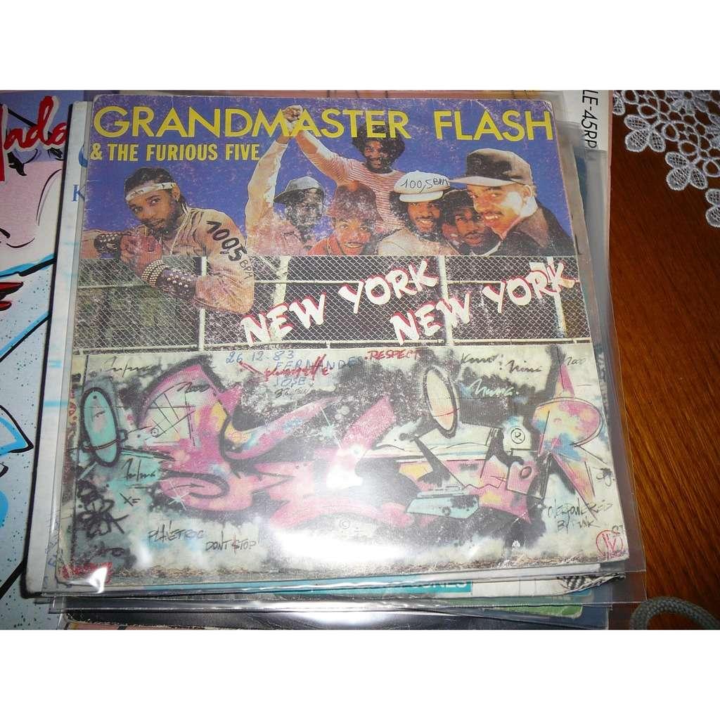 grandmaster flash & the furious five new york new york