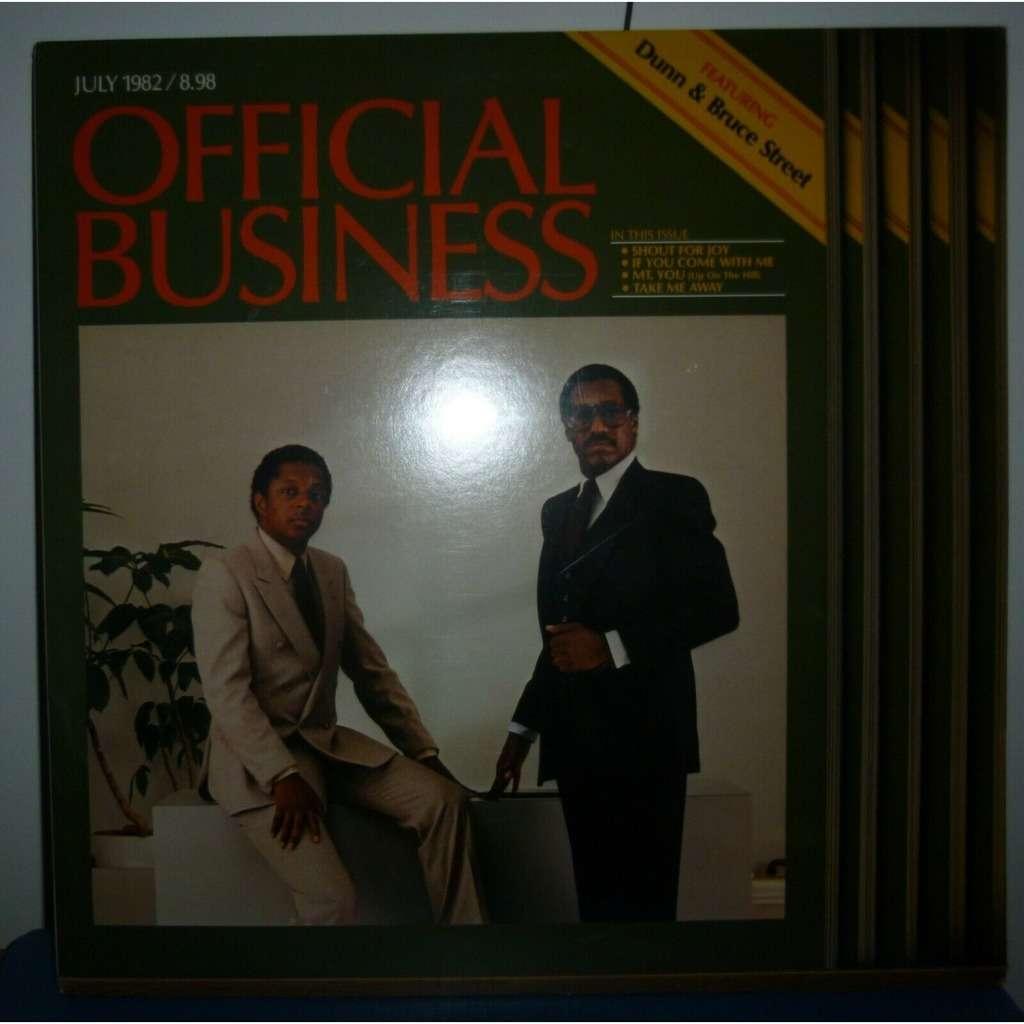 dunn & bruce street Official Business