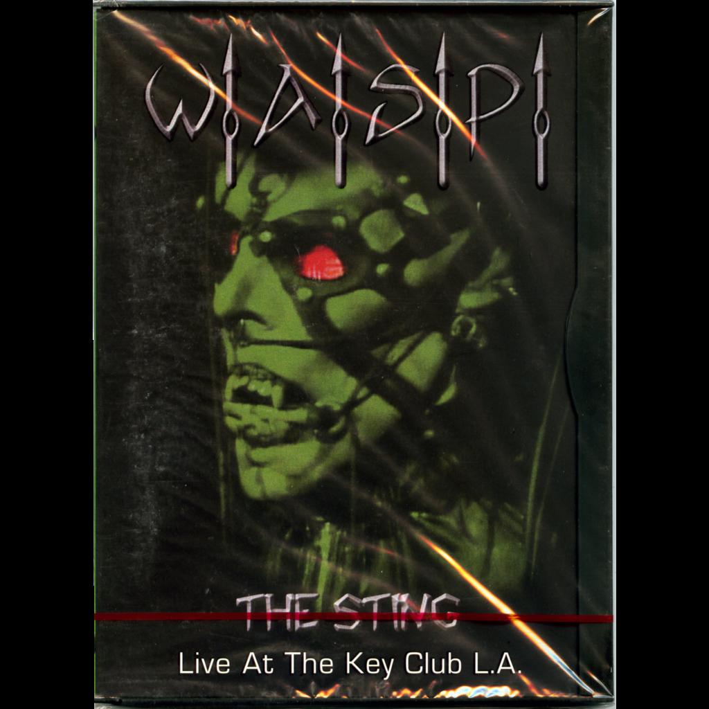 W.A.S.P. The Sting - Live At The Key Club L.A. + 13 Videos DVD Sealed