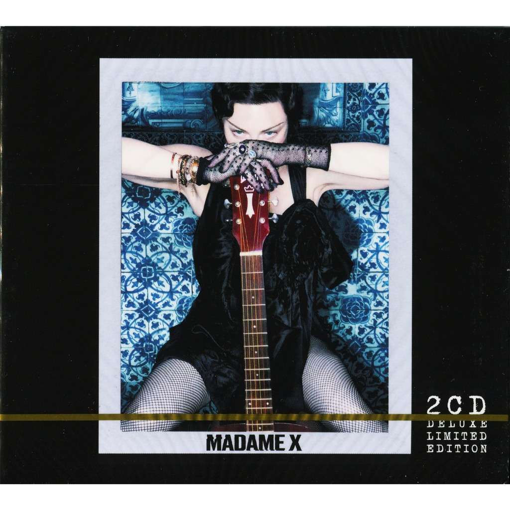 Madonna Madame X + Bonus Remixes 2CD Deluxe Limited Edition Digipack / New & Factory-Sealed