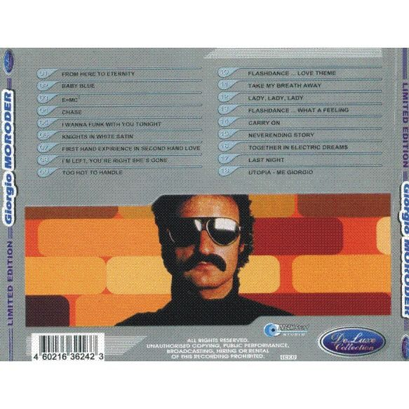 Giorgio Moroder DeLuxe Collection 2001 CD