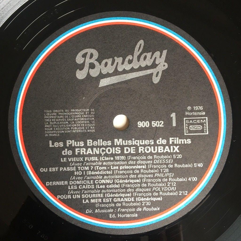François De Roubaix Les Plus Belles Musiques De Films Vol 1