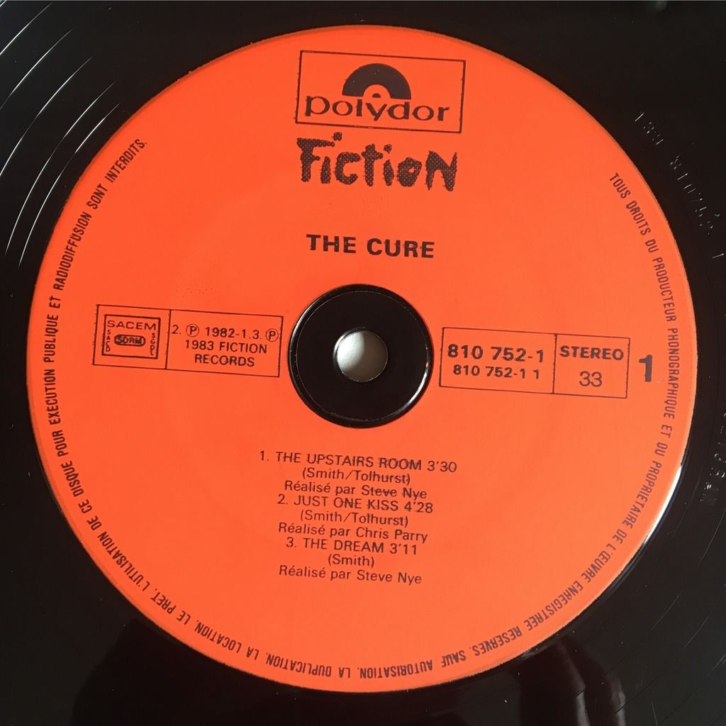 The Cure The Upstairs Room