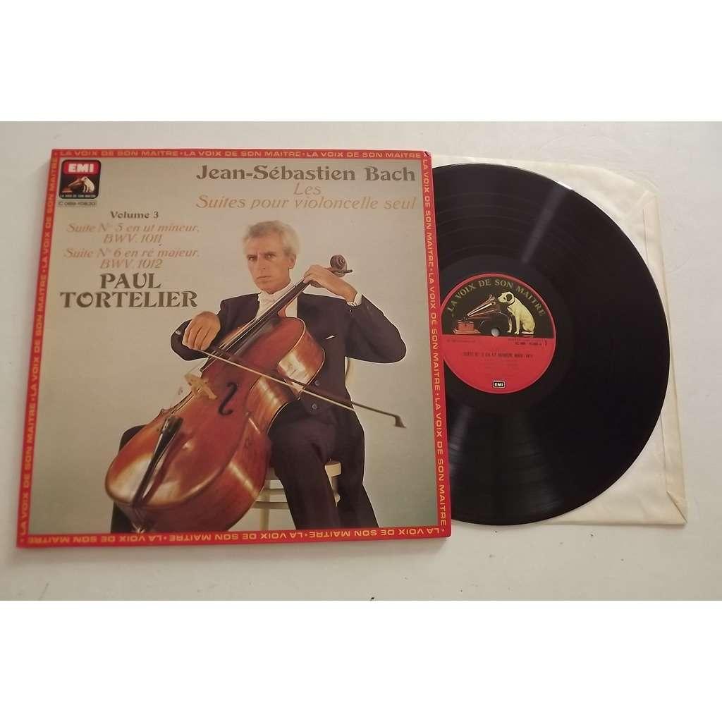 Bach Paul Tortelie Suites Pour Violoncelle Seul, N°1 En Sol Majeur - N°2 En Ré Mineur