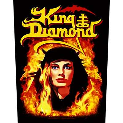 KING DIAMOND Fatal Portrait - BACKPATCH