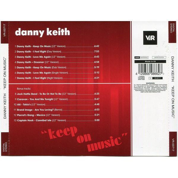 danny keith KEEP ON MUSIC