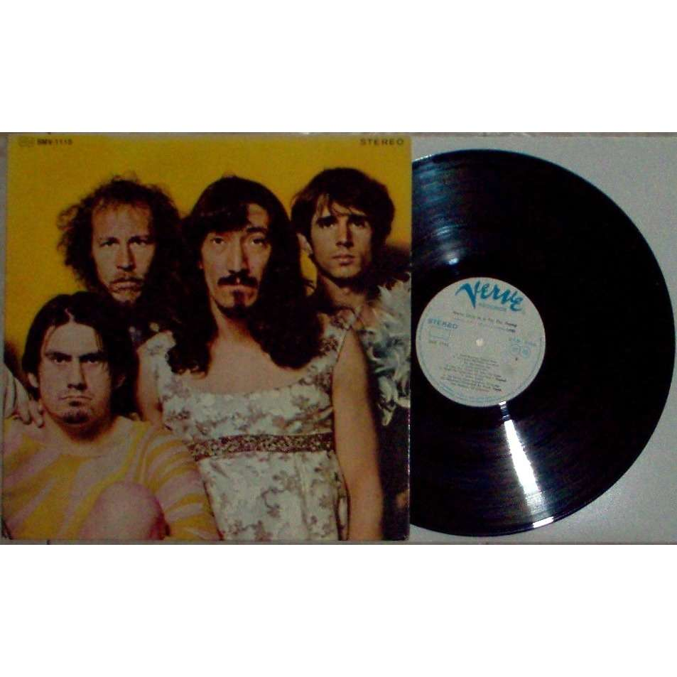 Frank Zappa / Mothers Of Invention We're Only In It For The Money (Japan 1969 original 18-trk w/label LP promo full deluxe gf ps)