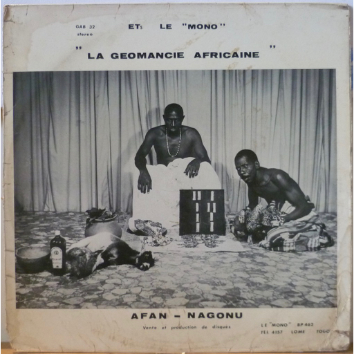 KOKOUVI DOLLA & KODJO ADJAVON & GROUPE D'AGOE NYIV La geomancie africaine