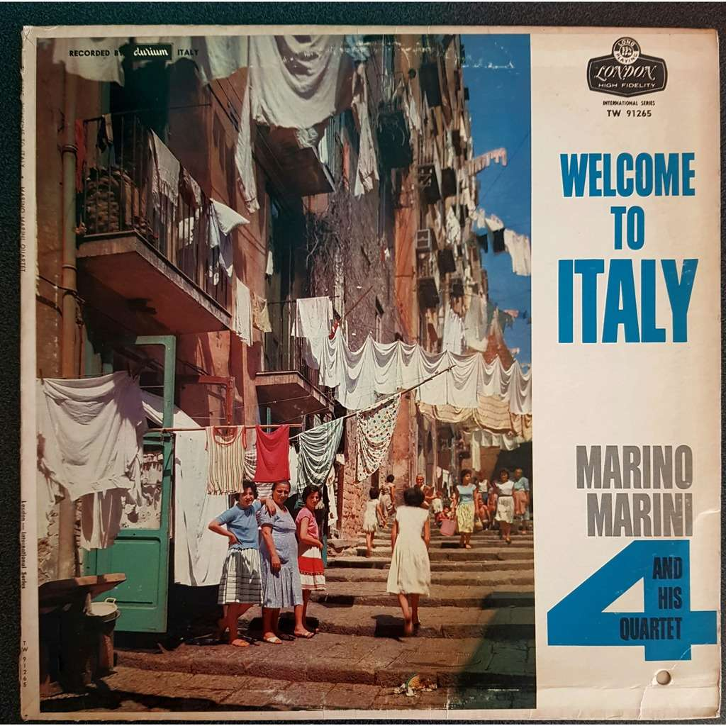 marino marini and his quartet welcome to italy