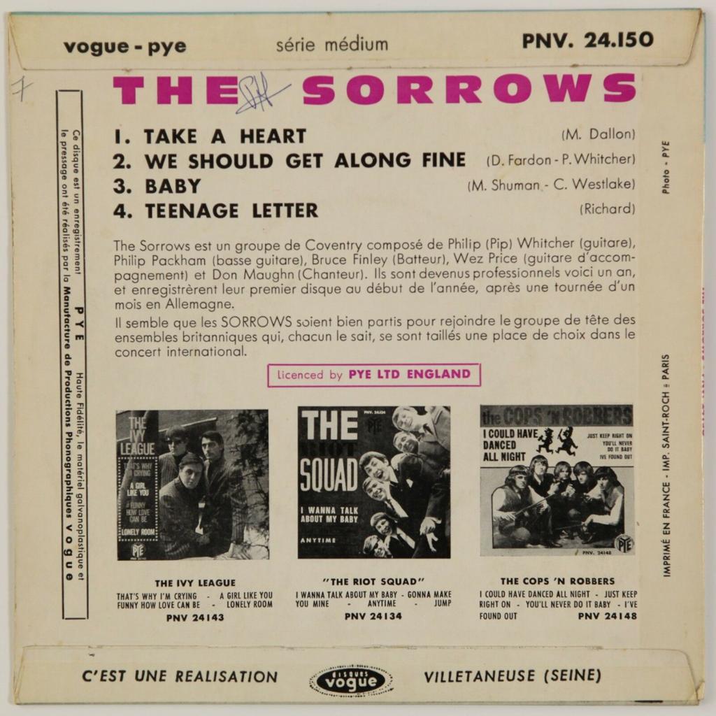 The Sorrows Take A Heart +3