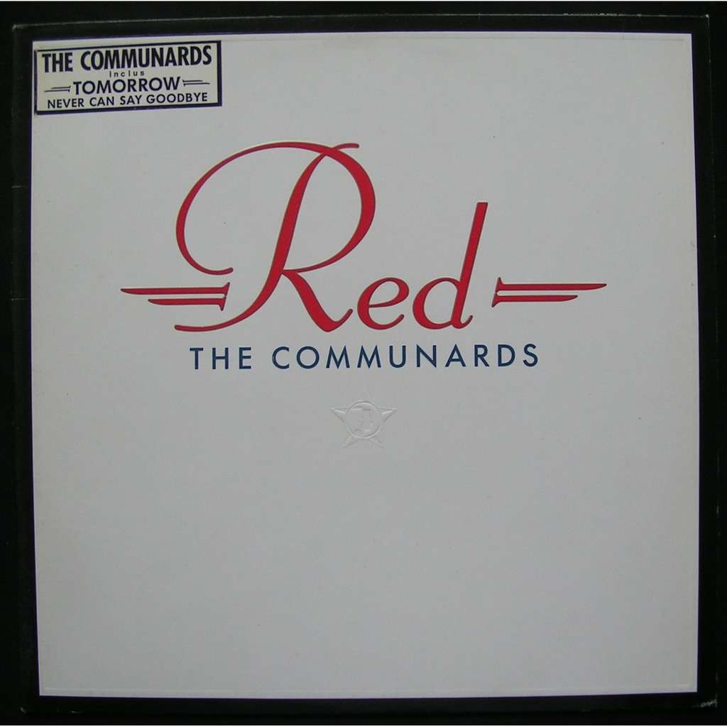 the communards / jimmy somerville / richard coles red