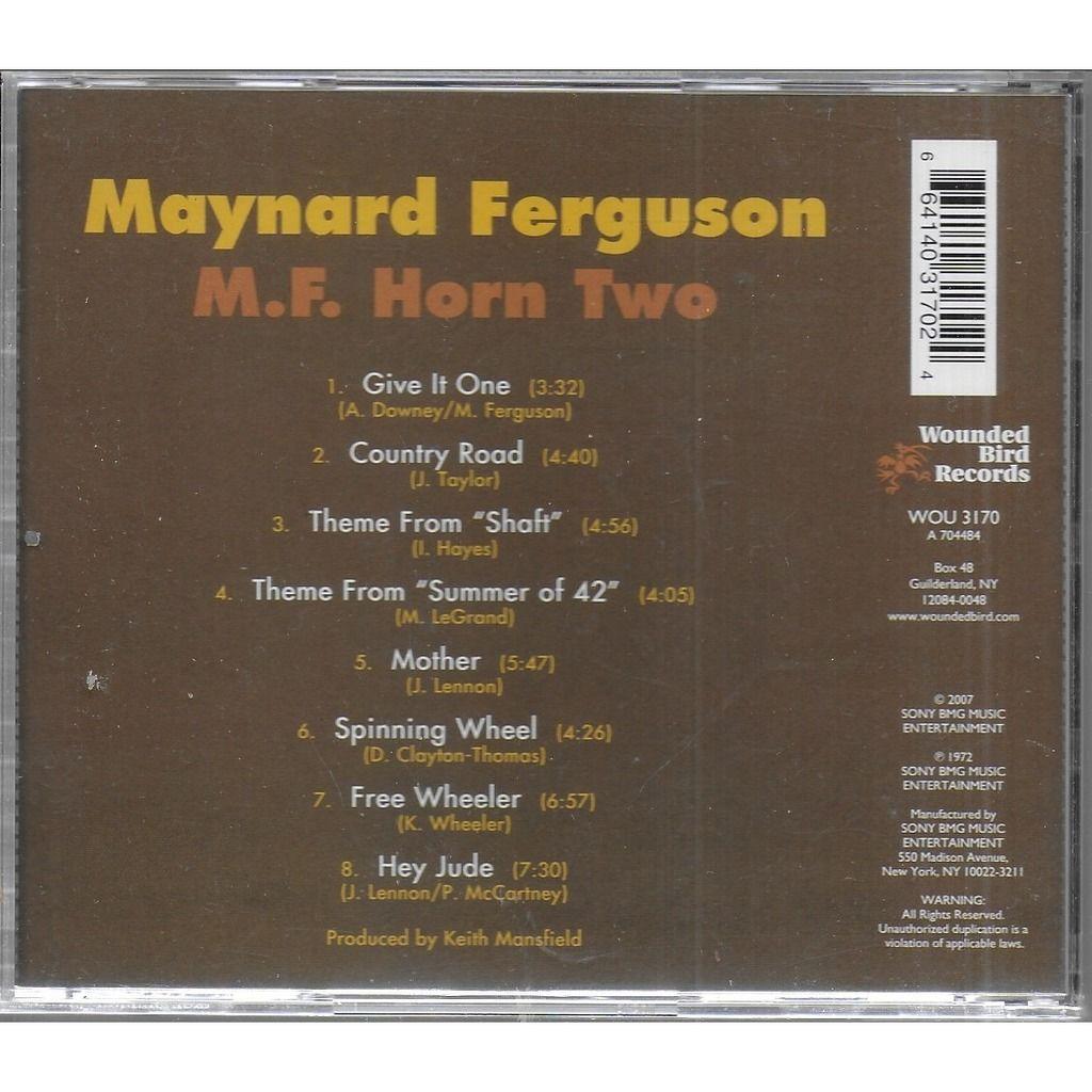 Maynard FERGUSON M.F. Horn, 2