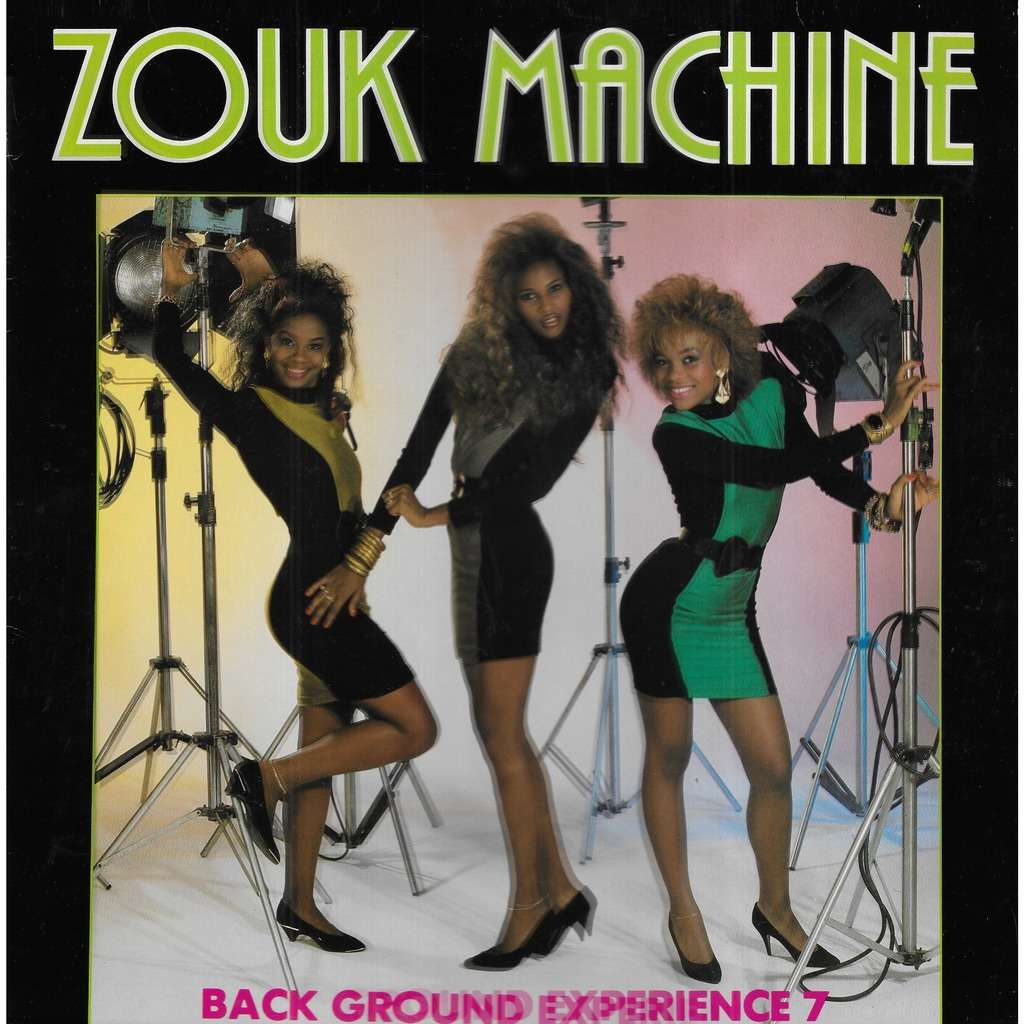 ZOUK MACHINE Back Ground Experience 7