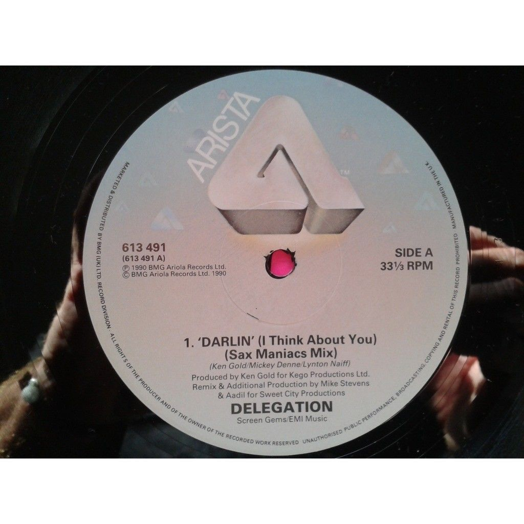 Delegation Delegation - Darlin' (I Think About You)12